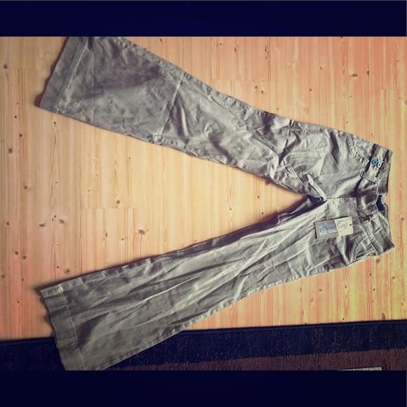 Alloy Pants Spoon Jeans Khaki Long Sz5 Flare From Poshmark